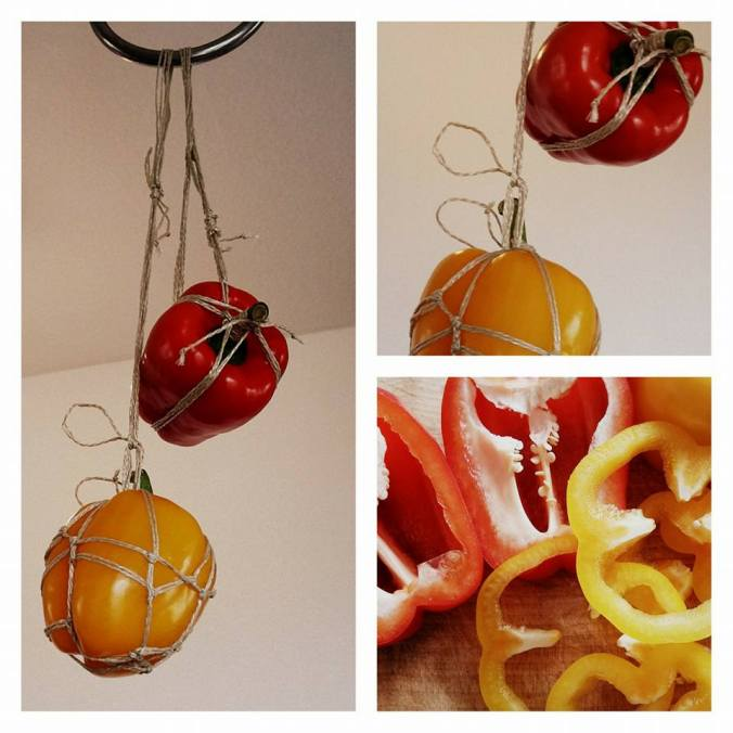 Pepper suspended rope
