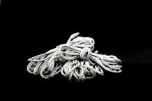 Rope bundled black and white