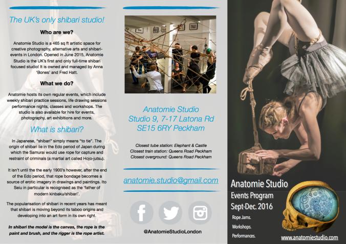 Anatomie Program page 1